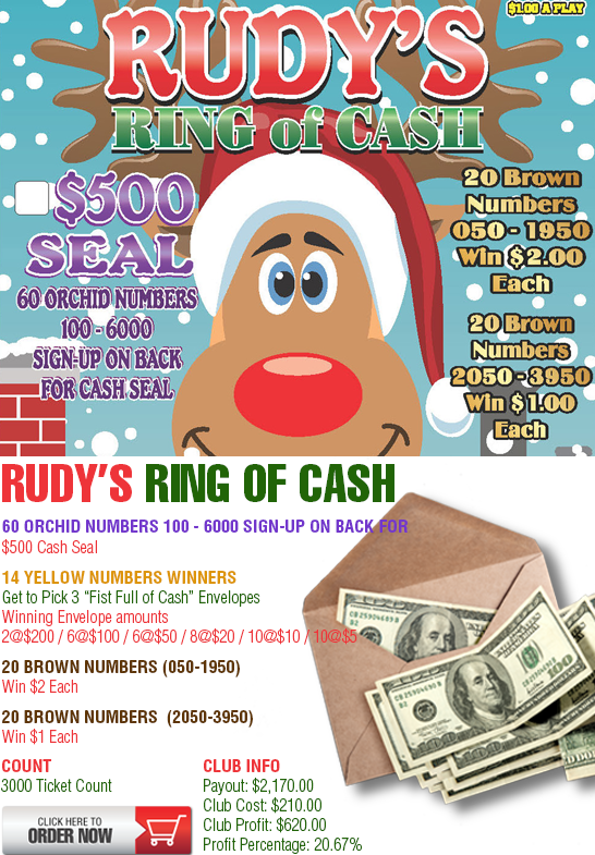 Rudy's Ring of Cash Cashboard