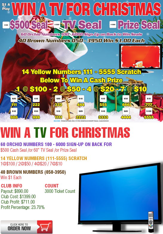 Win A TV For Christmas Cashboard