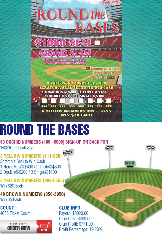 Round the Bases Cashboard